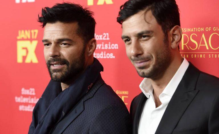 Así pasaron Ricky Martin y su esposo el Día de los Enamorados