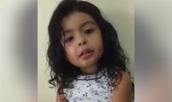 VÍDEO | Niña hondureña de cuatro años sorprende por sus conocimientos sin haber ido a la escuela