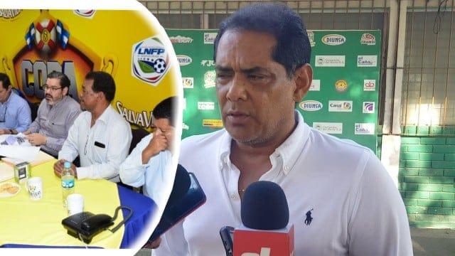 Rolin Peña en desacuerdo con la elección del nuevo presidente de la Liga