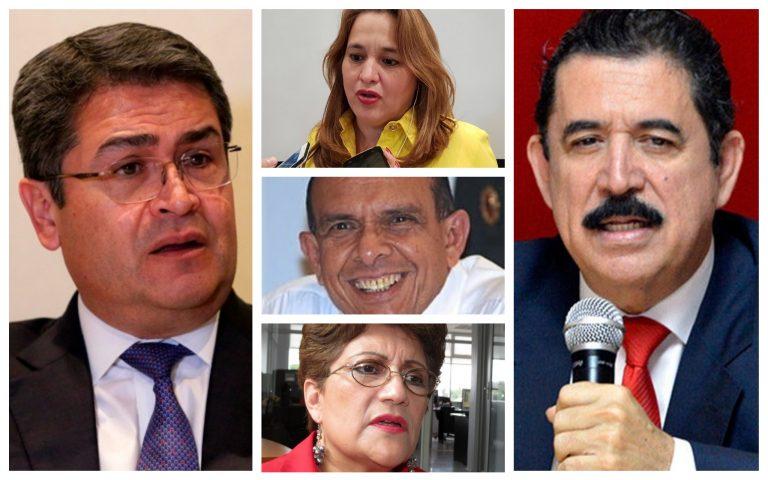 FRASES DE LA SEMANA: ¿Qué dijo JOH, Mel Zelaya, Lobo Sosa y María Luisa Borjas?