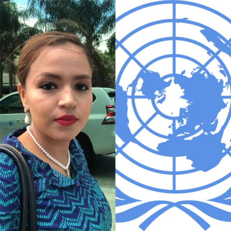 Olivia Cáceres: ¿Cómo es posible que la ONU me haya sacado por gritarle fuera JOH y asesino?