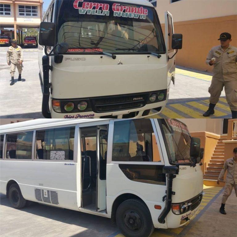 Tegucigalpa: hieren con puñal a conductor y ayudante tras asalto en autobús