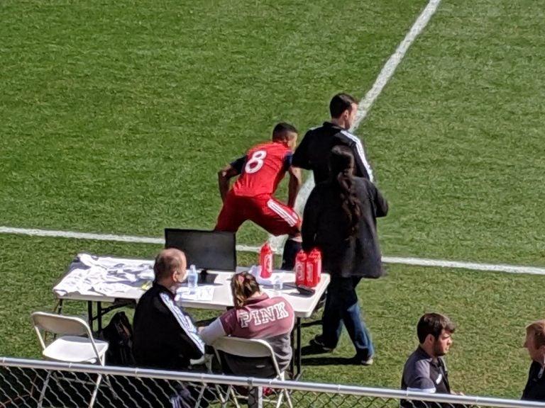Legionarios: Bryan Acosta debuta con el FC Dallas