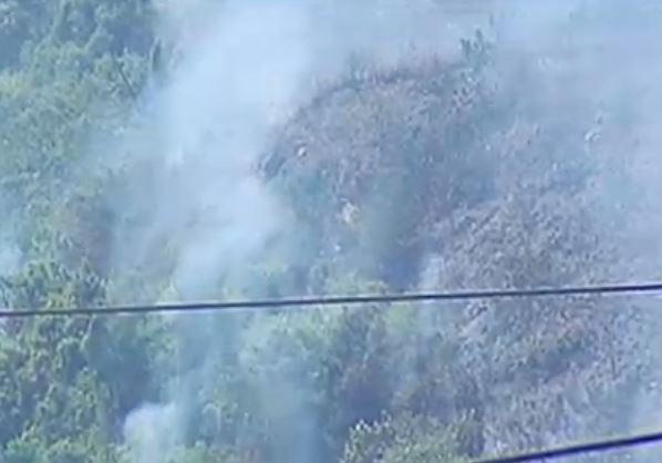 incendio en El Merendón