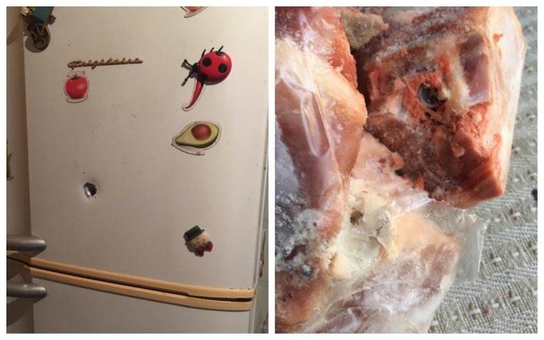 Tiroteo en colonia Canadá: balas perforan paredes y refrigerador