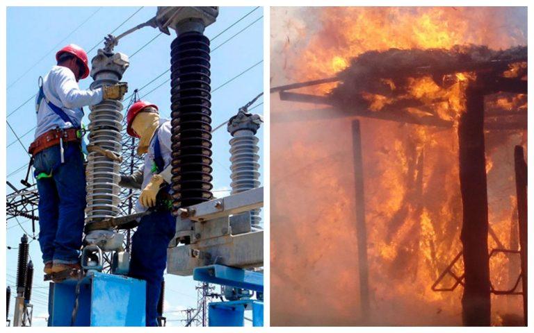 Bomberos: Cortes de energía de EEH aumentan incendios estructurales