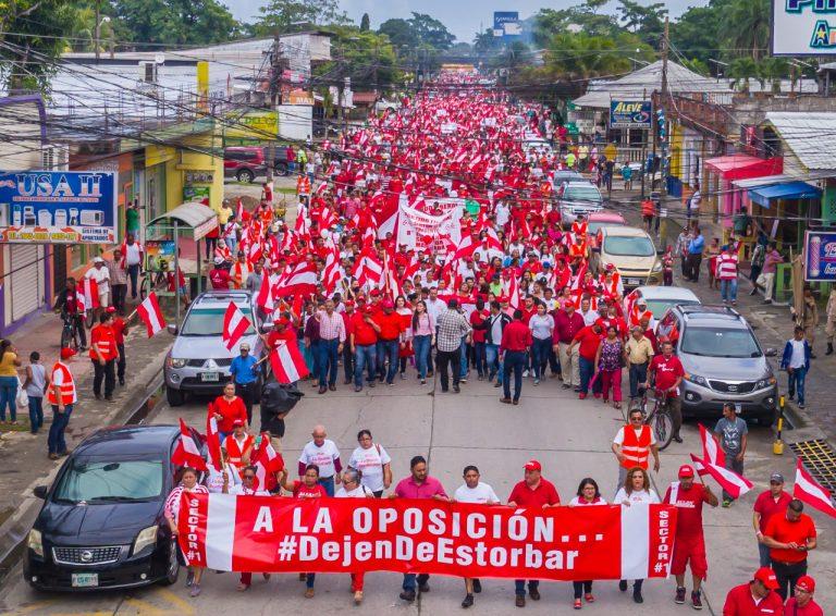 """Alcalde Allan Ramos: """"El Partido Liberal va a recuperar el poder de la república"""""""