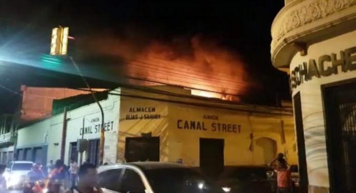 Causas de incendio en Tegucigalpa