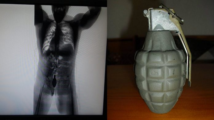 reo con granada en El Pozo