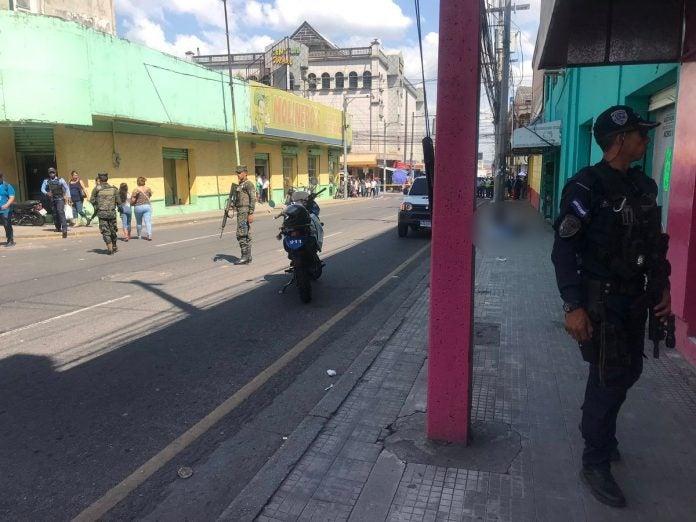 hombre asesinado en San Pedro Sula