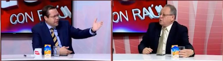 Zipe zape entre Fernando Anduray y Carlos Reina en programa de debates