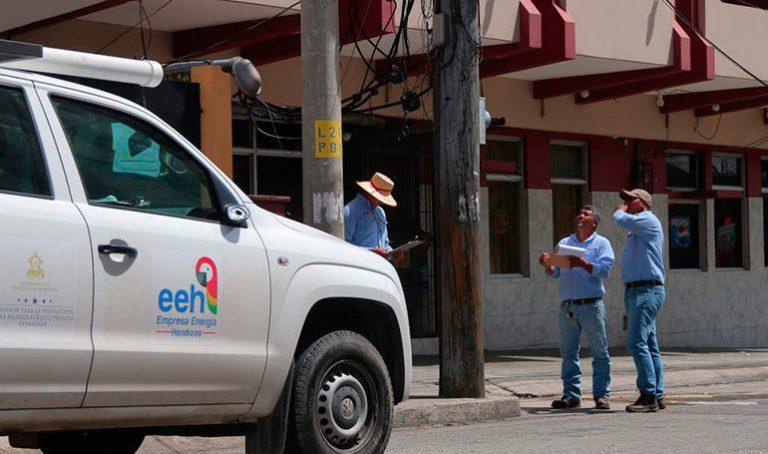 Para cuatro departamentos del país están programados los cortes de energía de EEH