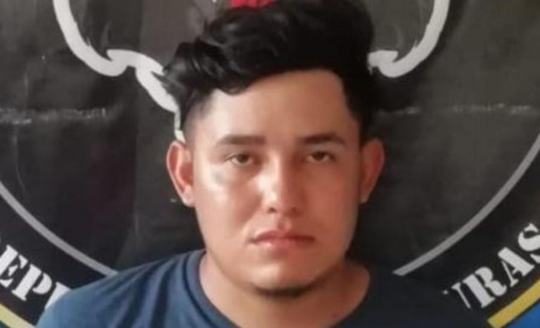 "Capturan a ""El Conejillo"", peligroso extorsionador de la MS-13 en Cortés"
