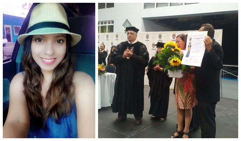 A un año del asesinato: Padres de Silvia Vanessa reciben título post mortem