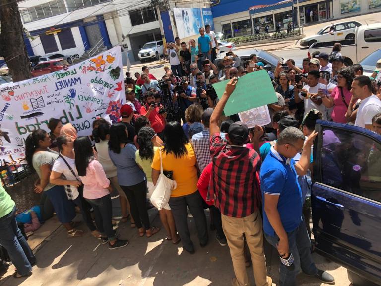 ¡Cuarto día consecutivo! Sigue audiencia contra 12 implicados en caso Guapinol