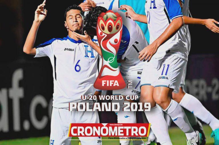 Convocatoria Sub-20 de Honduras previo al Mundial Polonia 2019