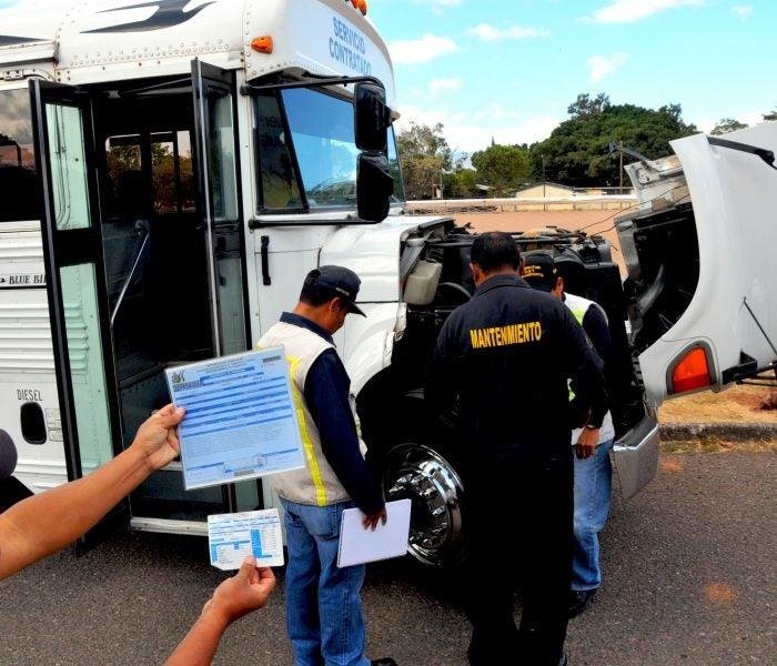 IHTT inspeccionará más de tres mil unidades de transporte previo a Semana Santa
