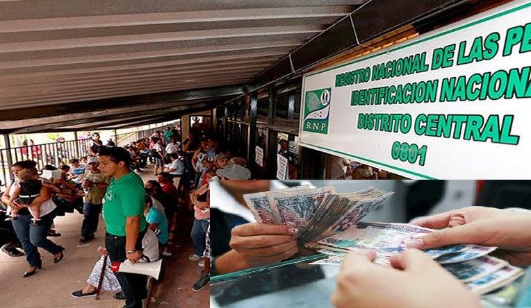 RNP: Hasta L30 mil pagarán hondureños por no reportar muerte de familiares