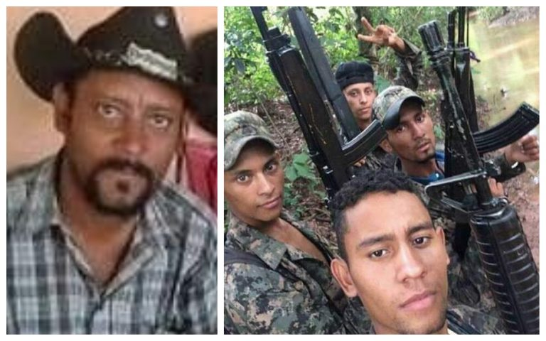 VÍDEO: la banda criminal «Mito Padilla» opera con poderosas armas en Olancho
