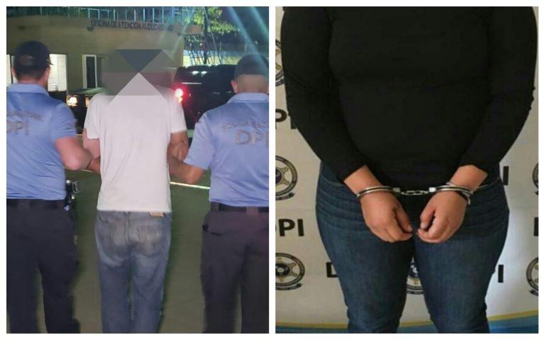 DPI captura a taxista y su pareja; asaltaban a féminas que subían a la unidad