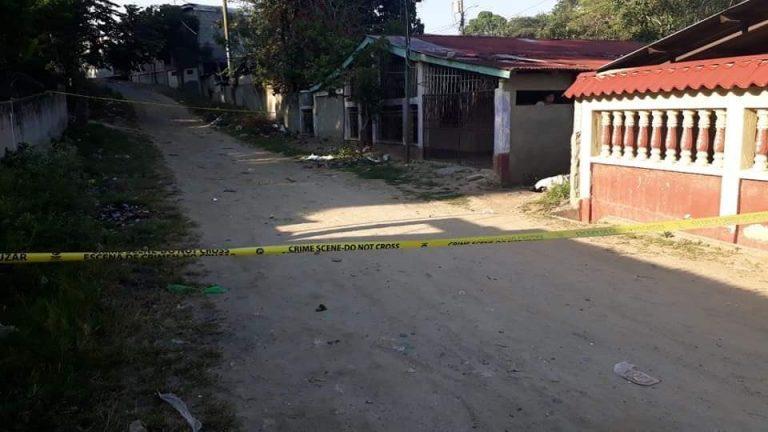 Choloma: dos personas asesinadas; la dama era adolescente