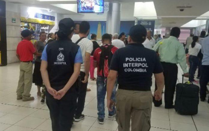 Colombiano detenido en Honduras