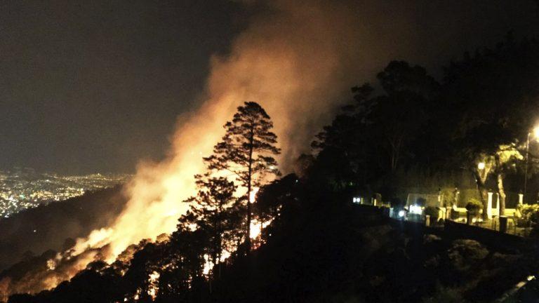 Identifican a supuesto pirómano que causó voraz incendio en El Hatillo