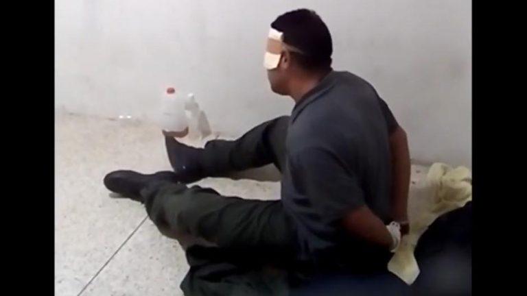 Militar venezolano filtra vídeos de supuestas torturas a presos políticos