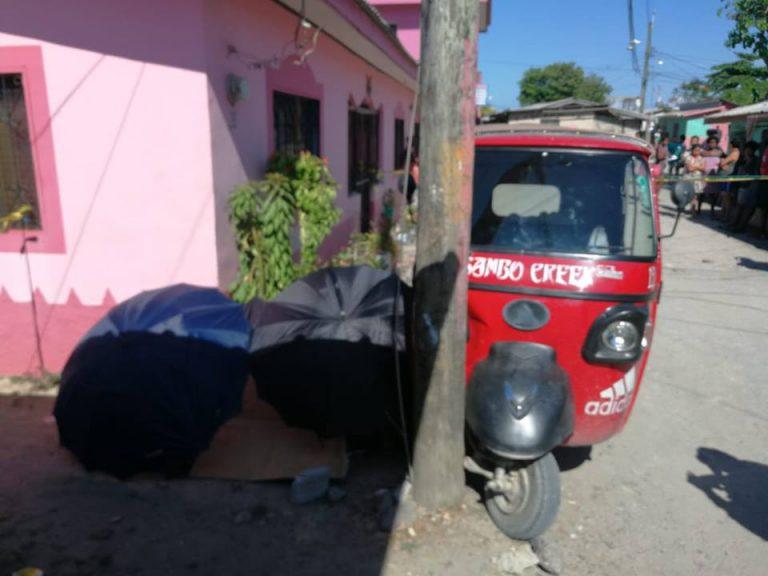Dos sujetos disparan desde motocicleta y matan a veinteañero en La Ceiba