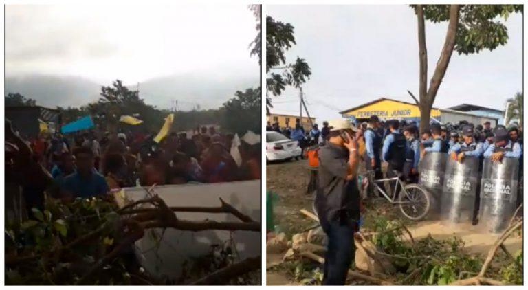 Desalojo en El Progreso: al menos 250 familias se resisten ante la Policía
