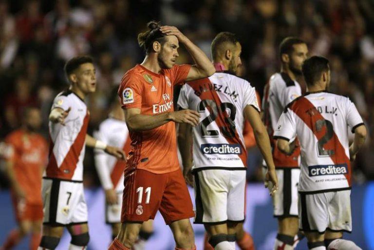 Un Real Madrid para el olvido…. Perdió 1-0 ante el casi descendido Rayo Vallecano