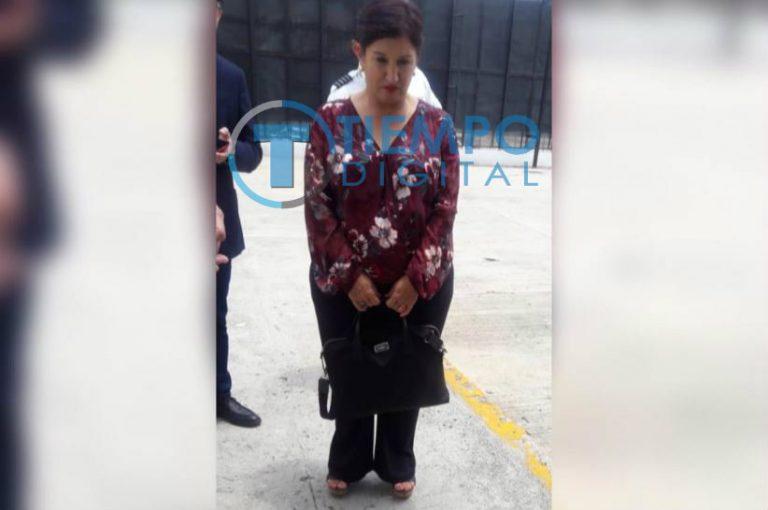 En aduana de Toncontín retienen a Thelma Aldana, exfiscal de Guatemala