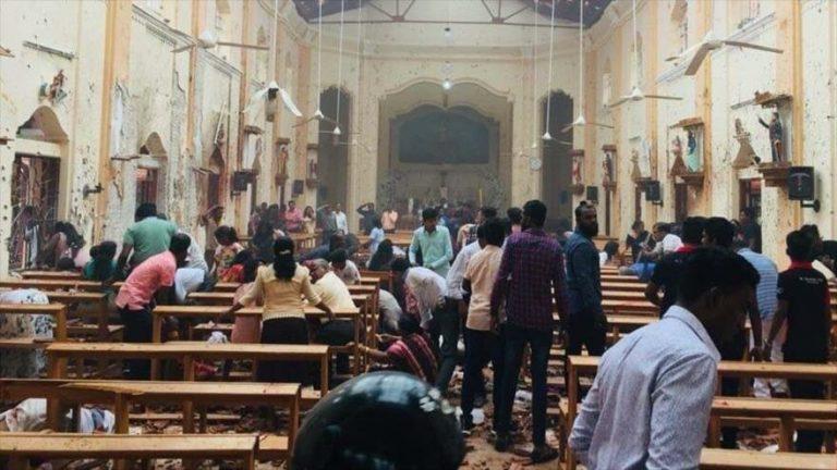 Hay al menos 27 extranjeros muertos en Sri Lanka tras cadena de explosiones