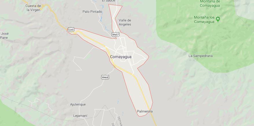 transportista muerto en Comayagua