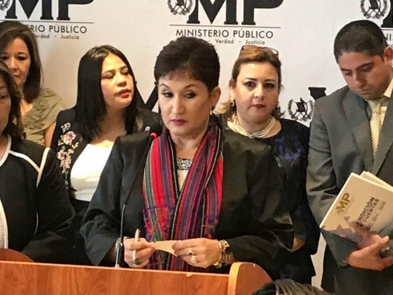 Gobierno y Secretaría de Seguridad niegan detención de exfiscal Thelma Aldana