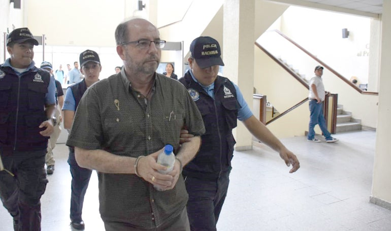 exdiputado colombiano capturado en Honduras