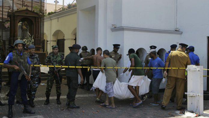Ataques terroristas a Sri Lanka