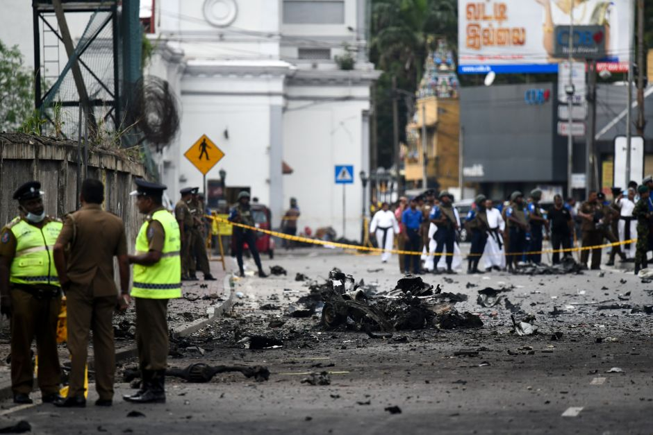 Ataques terroristas en Sri Lanka