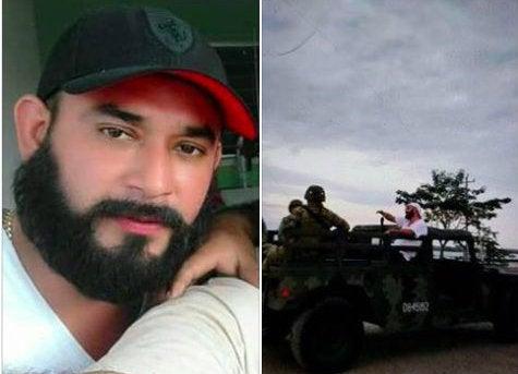 Difunden foto de supuesto autor intelectual de la masacre en Veracruz, México