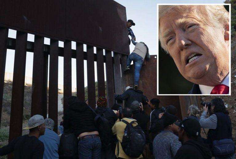 Donald Trump celebra ayuda de México para frenar el flujo de inmigrantes
