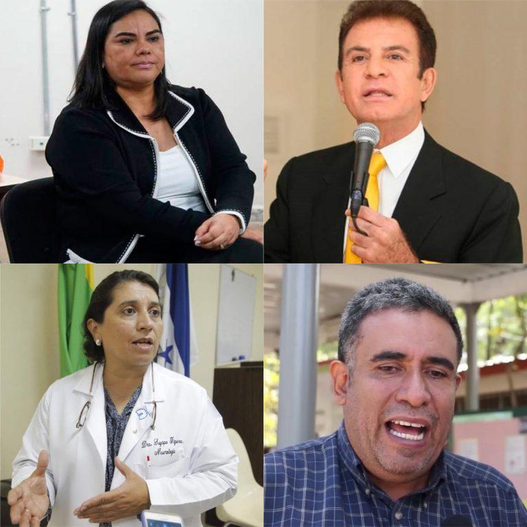 FRASES DE LA SEMANA: ¿Qué dijo Salvador Nasralla, «Rosita»de Lobo, Suyapa Figueroa y Esteban Díaz?