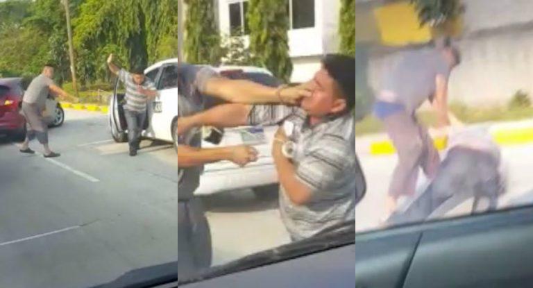 SPS: hombre agrede a taxista por supuestamente quitarle derecho de vía