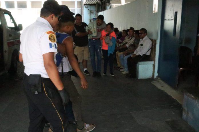 Hondureños tiroteados en Guatemala