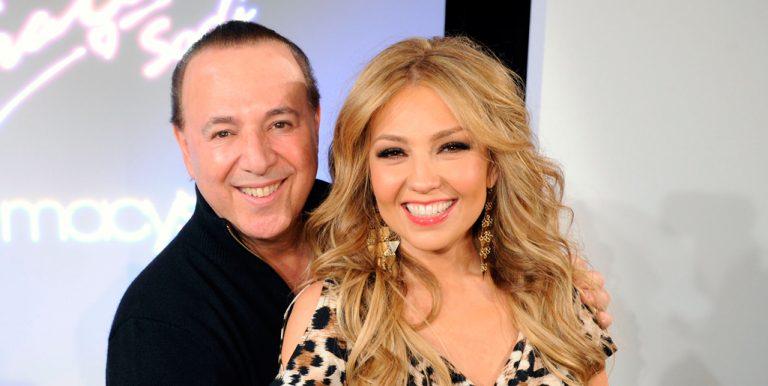 Thalía recuerda a expareja en redes sociales; su actual esposo reacciona