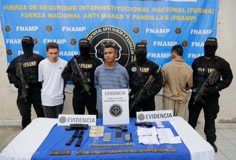 Caen tres pandilleros de la 18, dos de ellos recién habían salido de «La Tolva»