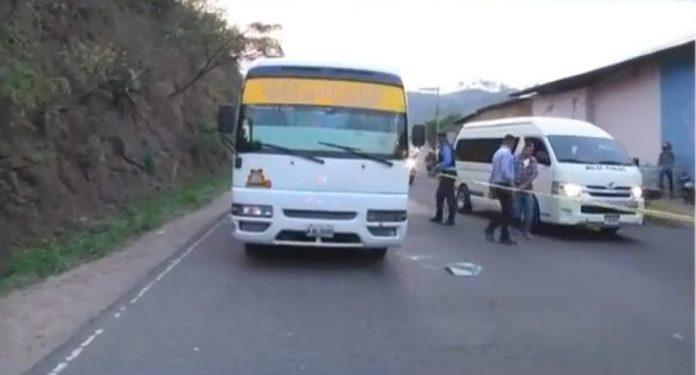 Transportista asesinado en Comayagüela
