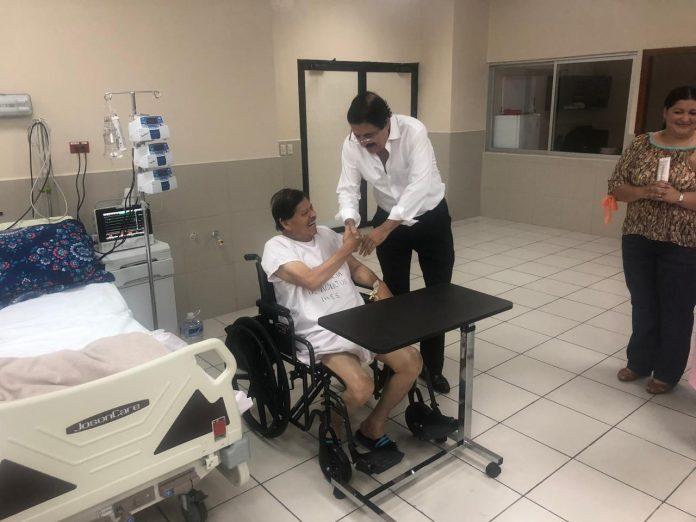 Manuel Zelaya visitó a Rafael Alegría
