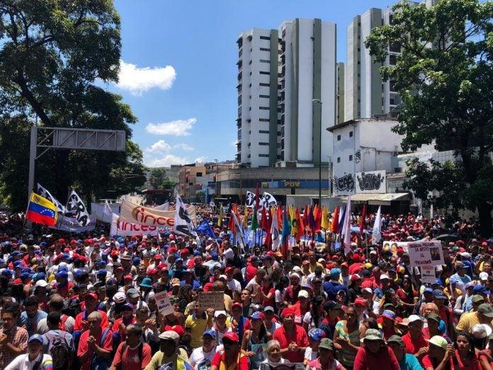 el chavismo y oposición