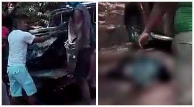 Cuatro personas heridas y una muerta por un accidente vial en Colón