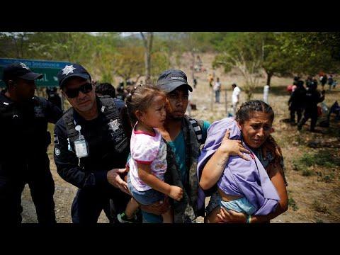 Crece el miedo en migrantes centroamericanos tras detenciones en México